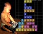 Flash-tetris-game-with-a-baby