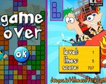 Tetris-کی-phineas-اور-ferb